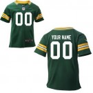 Toddler Green Bay Packers Customized Game Green Jersey