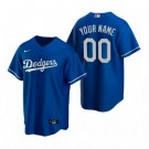 Toddler Los Angeles Dodgers Customized Blue Alternate 2020 Cool Base Jersey