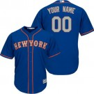 Toddler New York Mets Customized Blue 2 Cool Base Jersey