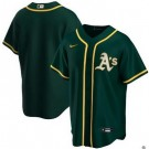 Toddler Oakland Athletics Customized Green 2020 Cool Base Jersey