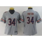 Women's Chicago Bears #34 Walter Payton Limited Gray Inverted Vapor Untouchable Jersey