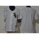 Women's Chicago White Sox Blank White 2020 Cool Base Jersey