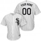 Women's Chicago White Sox Customized White Cool Base Jersey