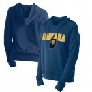 Women's Indiana Pacers Navy City Pullover Hoodie