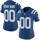 Women's Indianapolis Colts Customized Limited Blue Vapor Untouchable Jersey