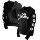 Women's Los Angeles Clippers Black City Pullover Hoodie