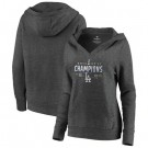 Women's Los Angeles Dodgers 2020 World Series Champions Pullover Hoodie 1003