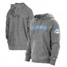 Women's Los Angeles Lakers Gray City Pullover Hoodie