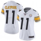 Women's Pittsburgh Steelers #11 Chase Claypool Limited White Vapor Untouchable Jersey