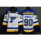 Women's St Louis Blues #90 Ryan O'Reilly White Authentic Jersey