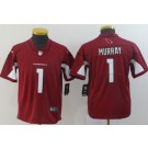 Youth Arizona Cardinals #1 Kyler Murray Limited Red Vapor Untouchable Jersey