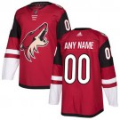 Youth Arizona Coyotes Customized Red Authentic Jersey