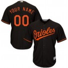 Youth Baltimore Orioles Customized Black Cool Base Jersey