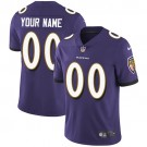 Youth Baltimore Ravens Customized Limited Purple Vapor Untouchable Jersey