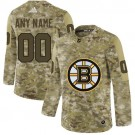 Youth Boston Bruins Customized Camo Fashion Authentic Jersey