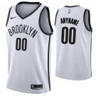 Youth Brooklyn Nets Customized White Icon Swingman Nike Jersey