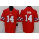 Youth Buffalo Bills #14 Stefon Diggs Limited Red Rush Color Jersey