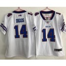Youth Buffalo Bills #14 Stefon Diggs Limited White Vapor Untouchable Jersey
