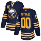 Youth Buffalo Sabres Customized Navy Blue Authentic Jersey