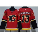 Youth Calgary Flames #13 Johnny Gaudreau Red Jersey