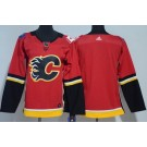 Youth Calgary Flames Blank Red Jersey