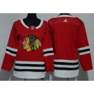Youth Chicago Blackhawks Blank Red Jersey