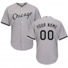 Youth Chicago White Sox Customized Gray Cool Base Jersey