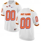 Youth Clemson Tigers Customized White 2016 College Football Jersey
