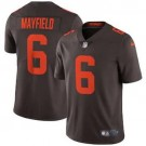 Youth Cleveland Browns #6 Baker Mayfield Limited Brown Alternate 2020 Vapor Untouchable Jersey