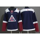 Youth Colorado Avalanche Customized Navy Alternate Authentic Jersey