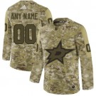 Youth Dallas Stars Customized Camo Authentic Jersey