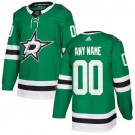 Youth Dallas Stars Customized Green Authentic Jersey