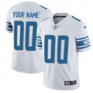 Youth Detroit Lions Customized Limited White Vapor Untouchable Jersey