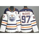 Youth Edmonton Oilers #97 Connor McDavid White Jersey
