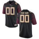Youth Florida State Seminoles Customized Black 2016 College Football Jersey