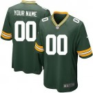Youth Green Bay Packers Customized Game Green Jersey