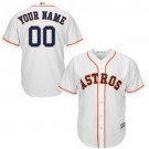 Youth Houston Astros Customized White Cool Base Jersey