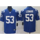 Youth Indianapolis Colts #53 Darius Leonard Limited Blue Vapor Untouchable Jersey