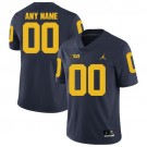 Youth Michigan Wolverines Customized Navy Rush 2017 College Football Jersey