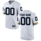 Youth Michigan Wolverines Customized White College Football Jersey