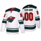 Youth Minnesota Wild Customized White Authentic Jersey