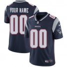 Youth New England Patriots Customized Limited Navy Blue Vapor Untouchable Jersey