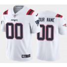 Youth New England Patriots Customized Limited White 2020 Vapor Untouchable Jersey