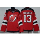 Youth New Jersey Devils #13 Nico Hischier Red Jersey