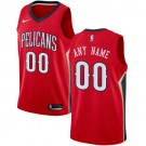 Youth New Orleans Pelicans Customized Red Icon Swingman Nike Jersey