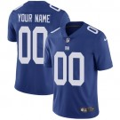 Youth New York Giants Customized Limited Blue Vapor Untouchable Jersey