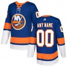 Youth New York Islanders Customized Blue Authentic Jersey