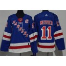 Youth New York Rangers #11 Mark Messier Blue Jersey