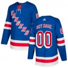 Youth New York Rangers Customized Blue Authentic Jersey