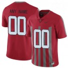 Youth Ohio State Buckeyes Customized Red Rush 2017 College Football Jersey